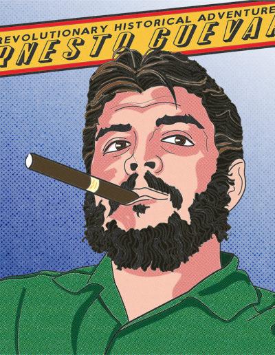 Che Guevara Yorkatronic Illustration