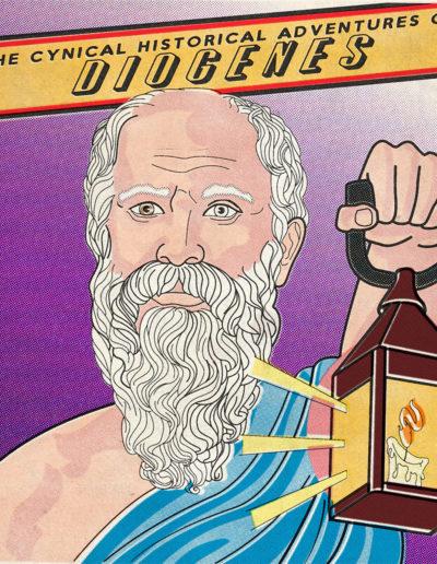 Diogenes Yorkatronic Illustration