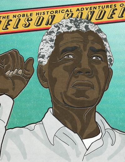 Nelson Mandela Yorkatronic Illustration