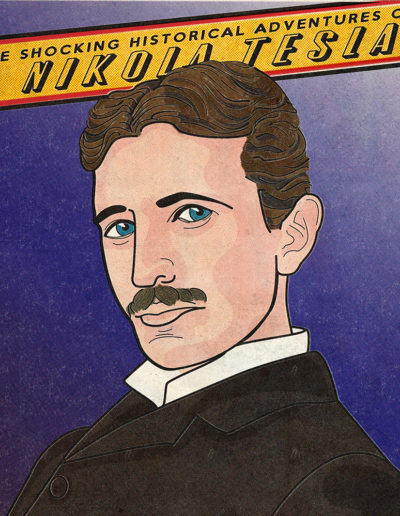 Nikola Tesla Yorkatronic Illustration